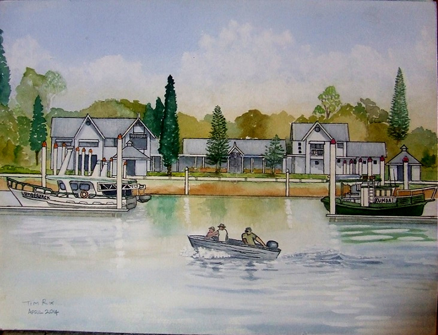 Gladstone Boat Harbour Marina